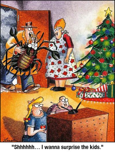 Far Side Christmas Cartoons : christmas, cartoons, Tumblr, Side,, Cartoons,, Funny, Christmas, Cartoons