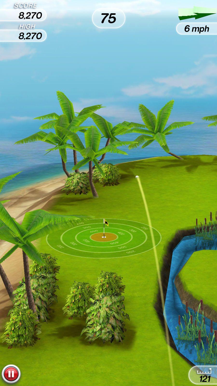 Flick Golf! SportsArcadeappsios App, Golf, Iphone apps