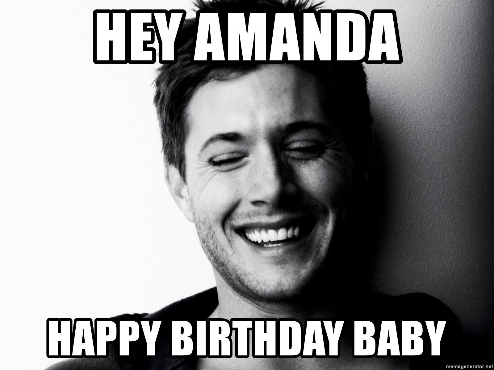 Birthday Wishes Girls Happy Amanda Meme Wwwmiifotoscom