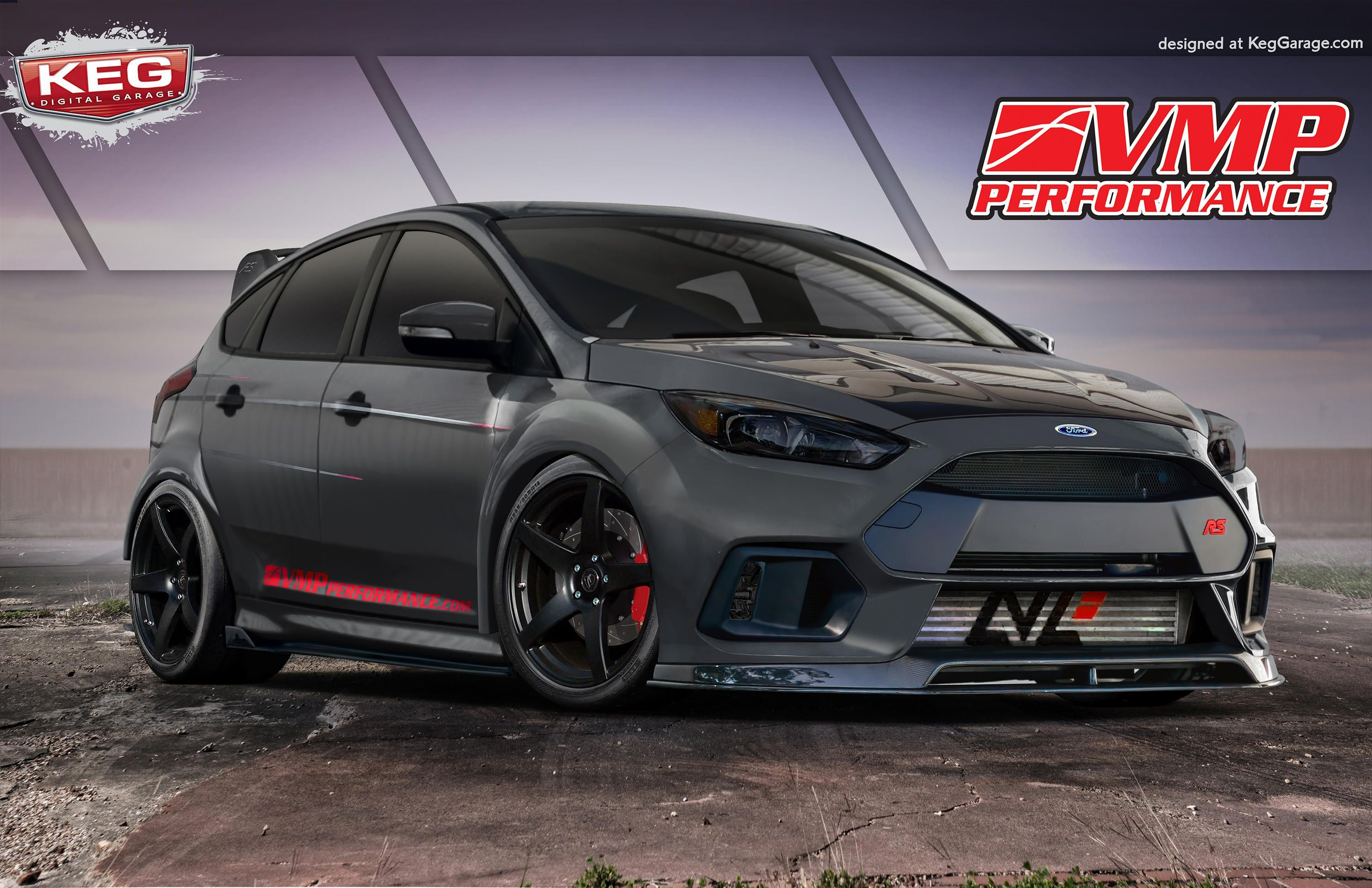 Ford Builds Four Wild Focus Sema Concepts And One Has A Freakin Drone Ford Focus Rs Ford Focus Focus Rs