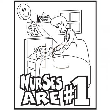 Nurses Are 1 Coloring Pages Nurse Clip Art Nurse Drawing