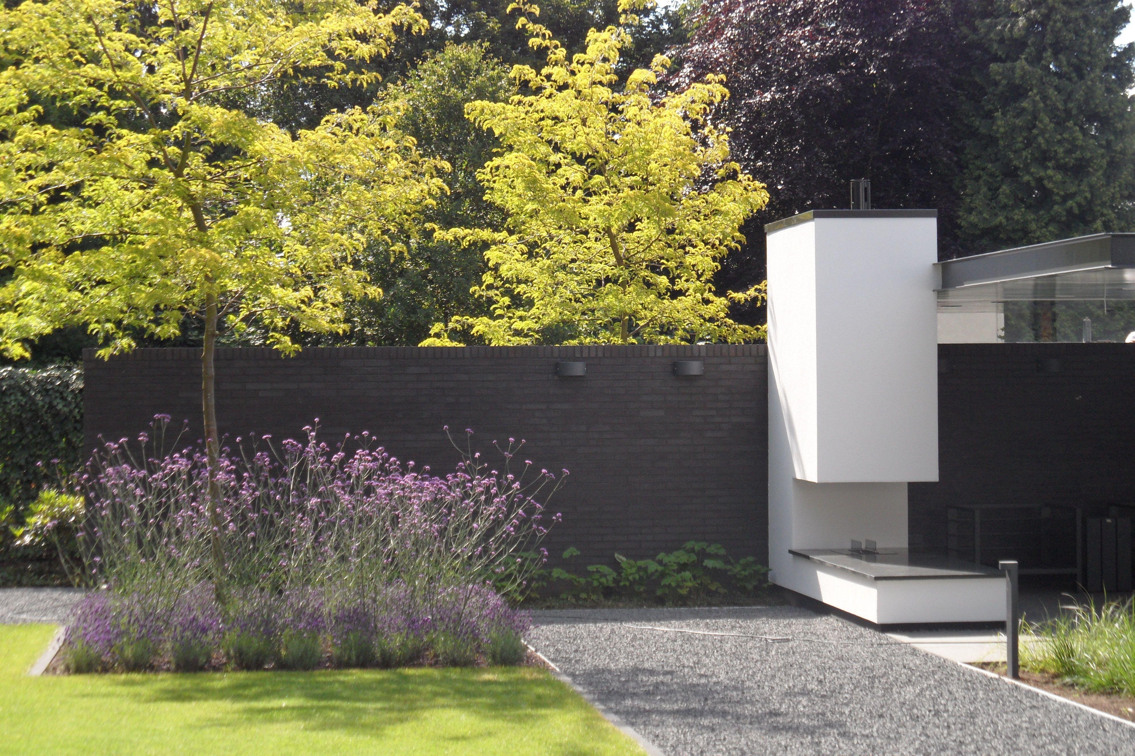 Tuin Open Haard : Tijdgenoot tuin open haard voor modern huis thelemondaisy