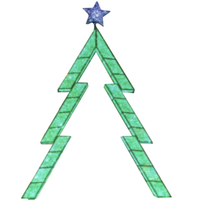 Led 3d Arch Tree Christmas Modern Christmas Tree Green Led Led