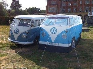 Buy the ultimate festival tent the vw c&er van tent replica | .batch- & Buy the ultimate festival tent the vw camper van tent replica ...