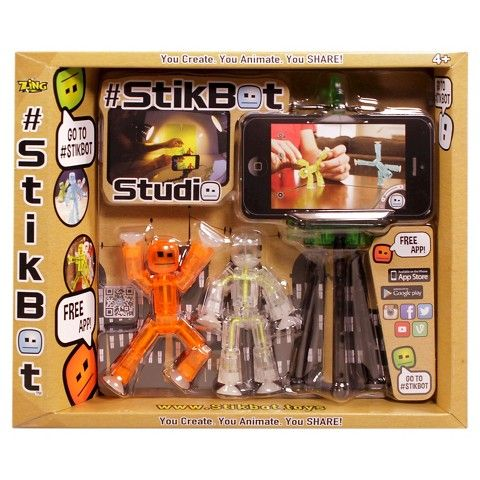 Stikbot Action Pack Series 1 Weapon Pack ~ Green *FREE SHIPPING*