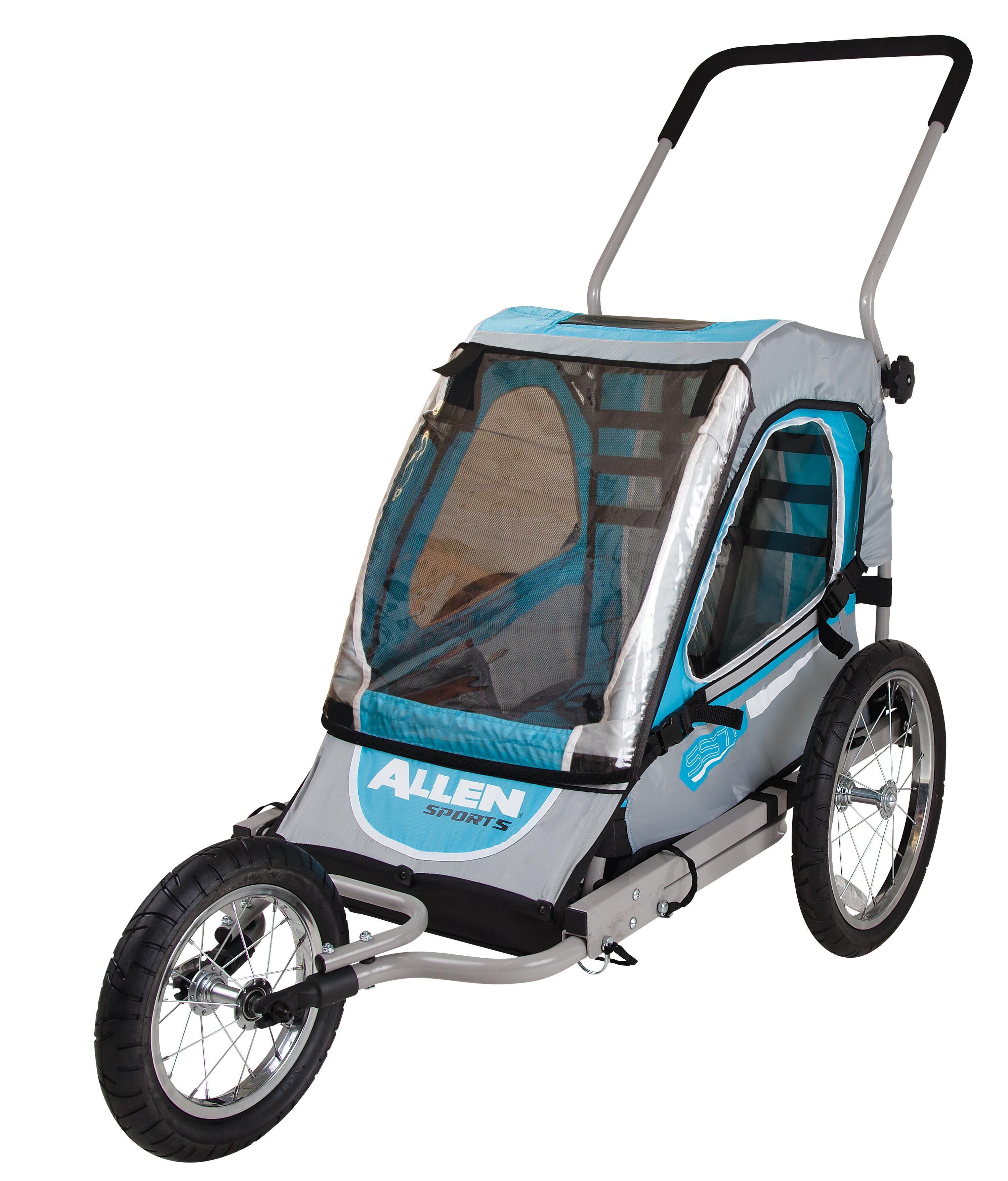Allen Sports Premier 1Child Jogger/Bike Trailer Amazon
