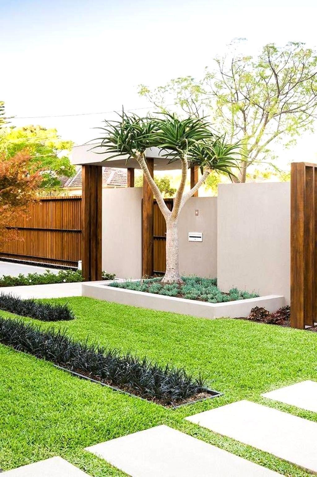 Front Garden Ideas Modern Beautiful And Clean Green Garden