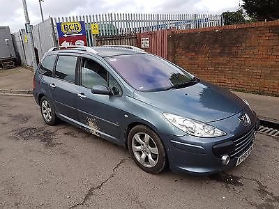 eBay: Peugeot 307 SW 1.6HDi ( 110bhp ) 2006 Salvage Damaged ...