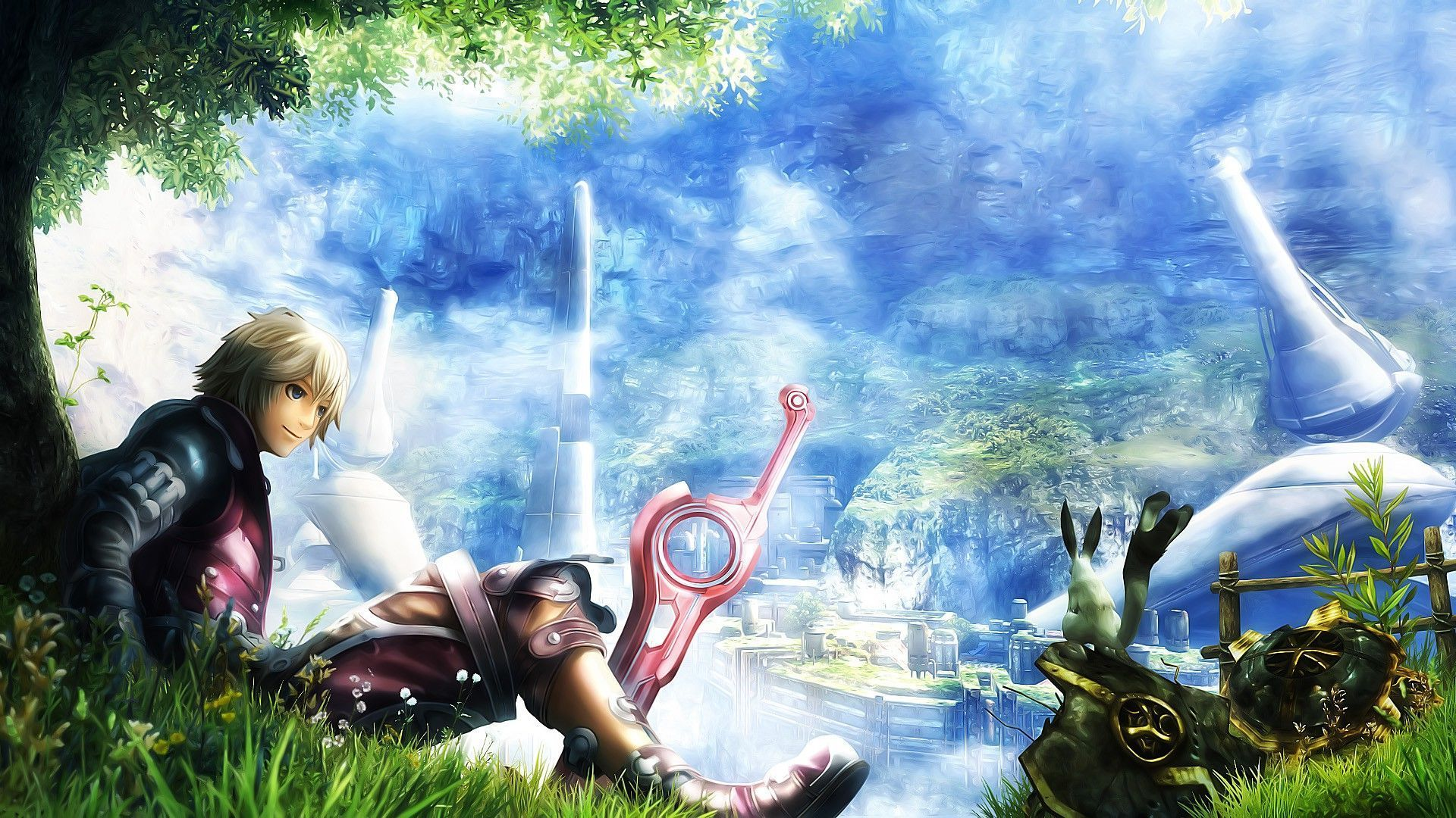 Shulk Xenoblade Chronicles X Game Wallpaper Nintendo