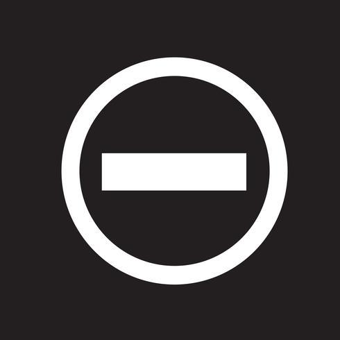 Minus Icon Symbol Sign Symbols Free Vector Illustration Vector Art