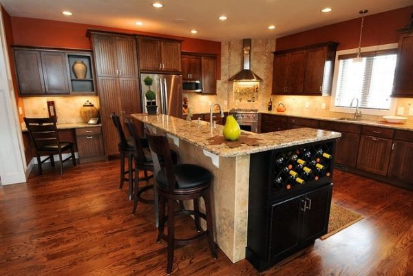 An L Shaped Marble Kitchen Island And Countertop Offers