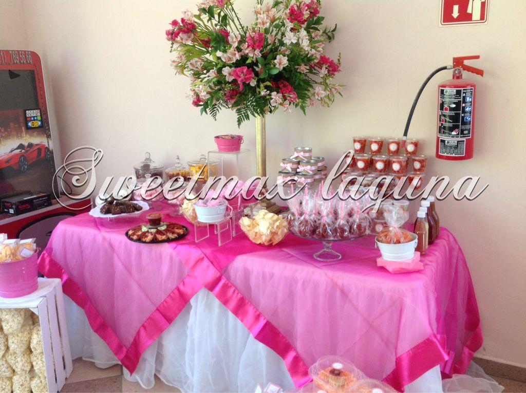Mesa mixta para bautizo | Mesas de snacks | Pinterest | Mesa de ...