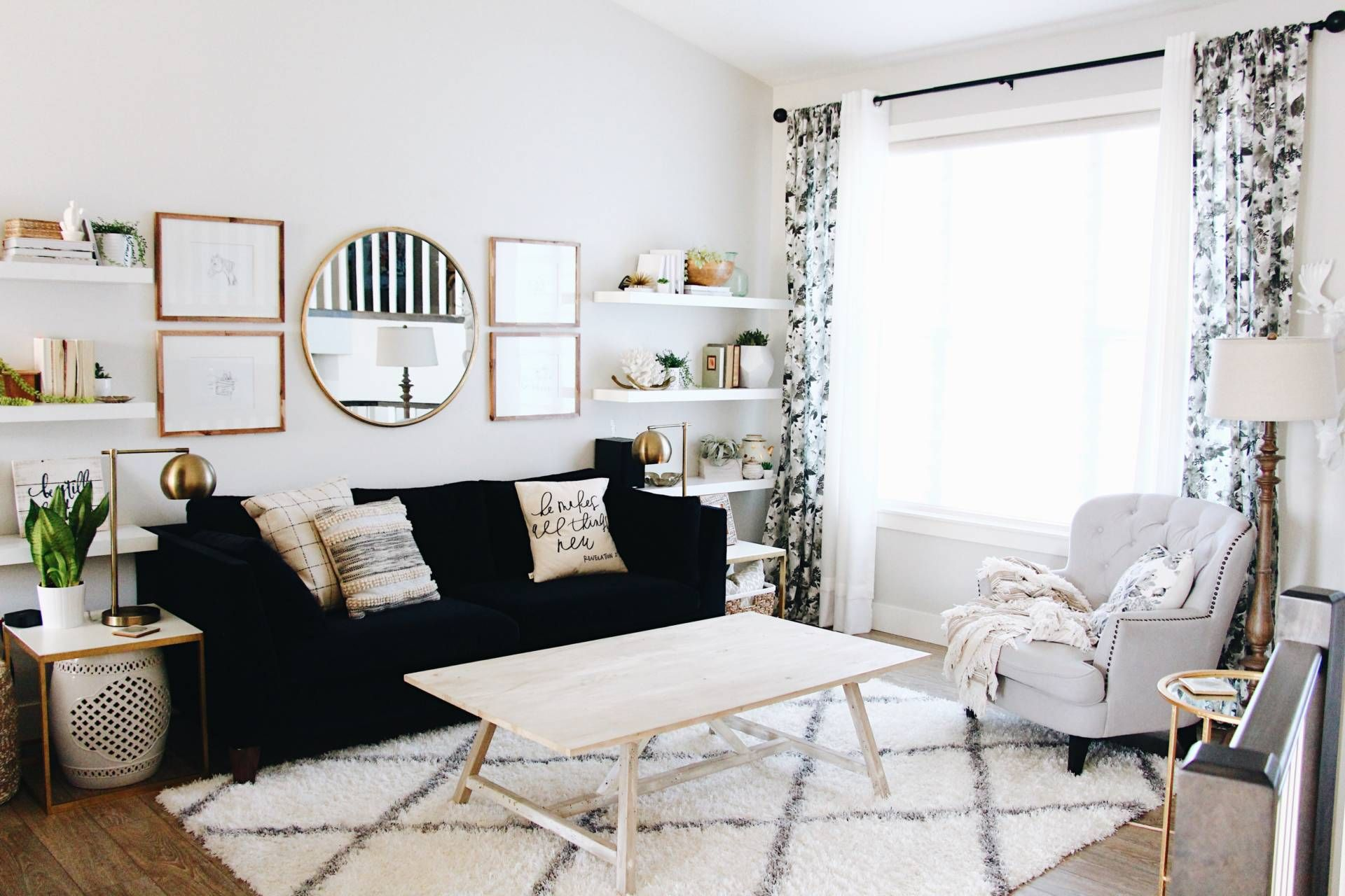 Updating your living room on a bud Living Spaces