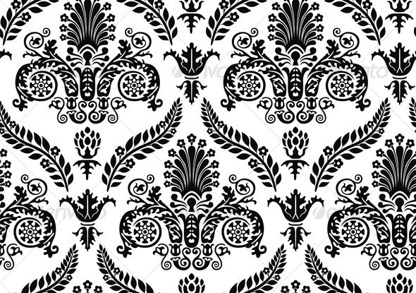 Realistic Graphic DOWNLOAD (.ai, .psd) :: http://jquery-css.de/pinterest-itmid-1000064079i.html ... Seamless Renaissance Wallpaper ...  black, classic, decor, decor, history, pattern, style, wallpaper, white  ... Realistic Photo Graphic Print Obejct Business Web Elements Illustration Design Templates ... DOWNLOAD :: http://jquery-css.de/pinterest-itmid-1000064079i.html
