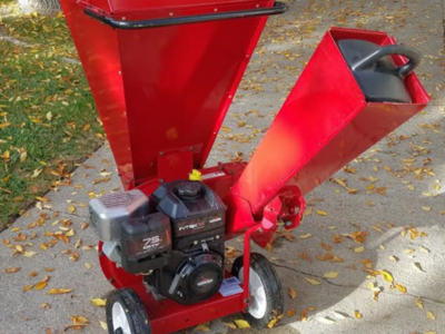 7 5 HP Craftsman Chipper / Shredder only used twice and that was