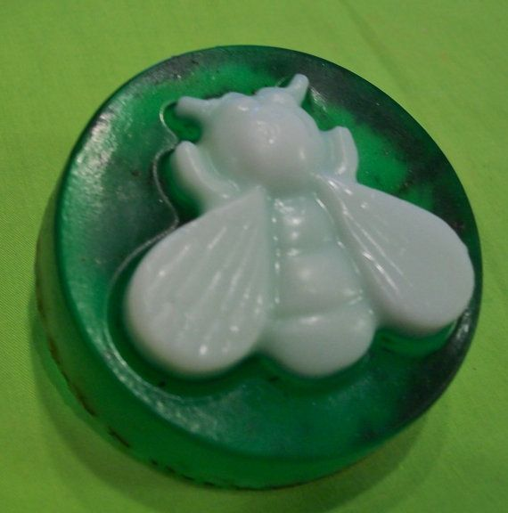Poured Glycerin Soap Rosemary and Honey by carolinemiles1 on Etsy