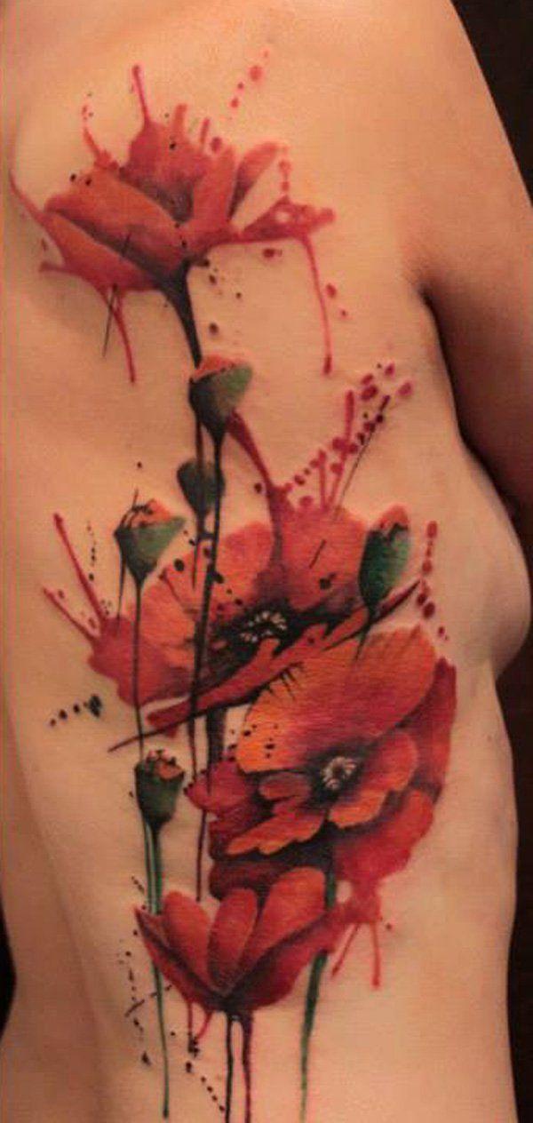 60 Beautiful Poppy Tattoos Mohnblumen Tattoo Aquarell Mohnblumen Tattoo Seite