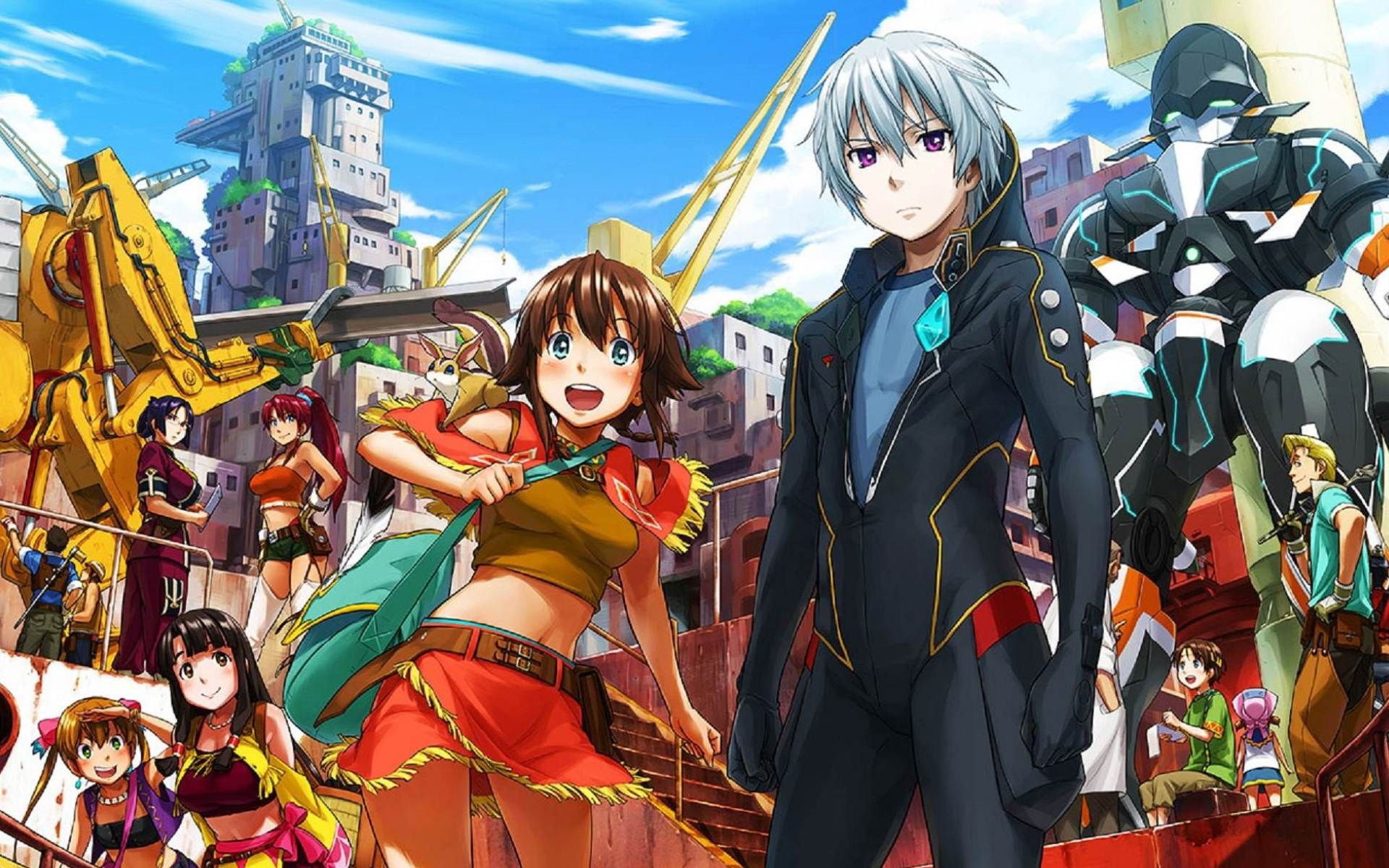 Suisei no Gargantia Anime Wallpaper Mecha anime