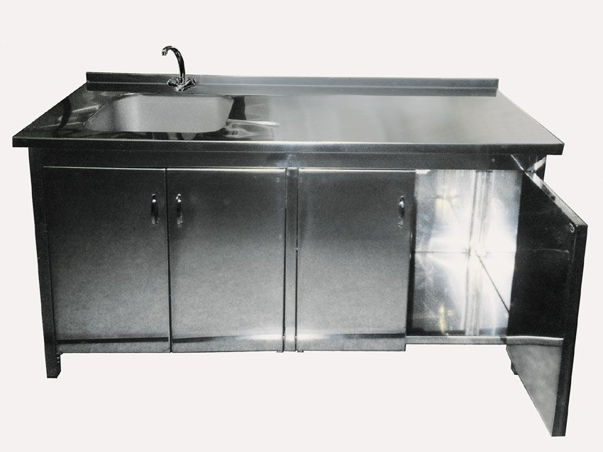 stainless steel sink cabinet | Cabinet with Sink (PTCS-715) - China ...