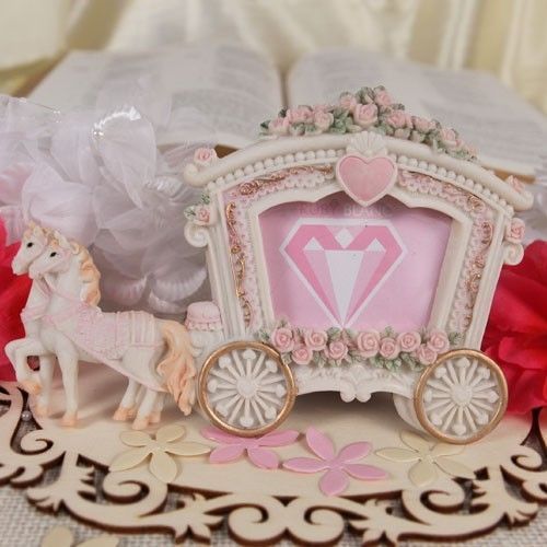 12 Horse Drawn Carriage Photo Frame Place Card Wedding Favor Party