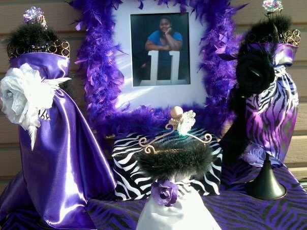 PurpleBlack and Zebra Print PreProm Party Party Ideas Zebra