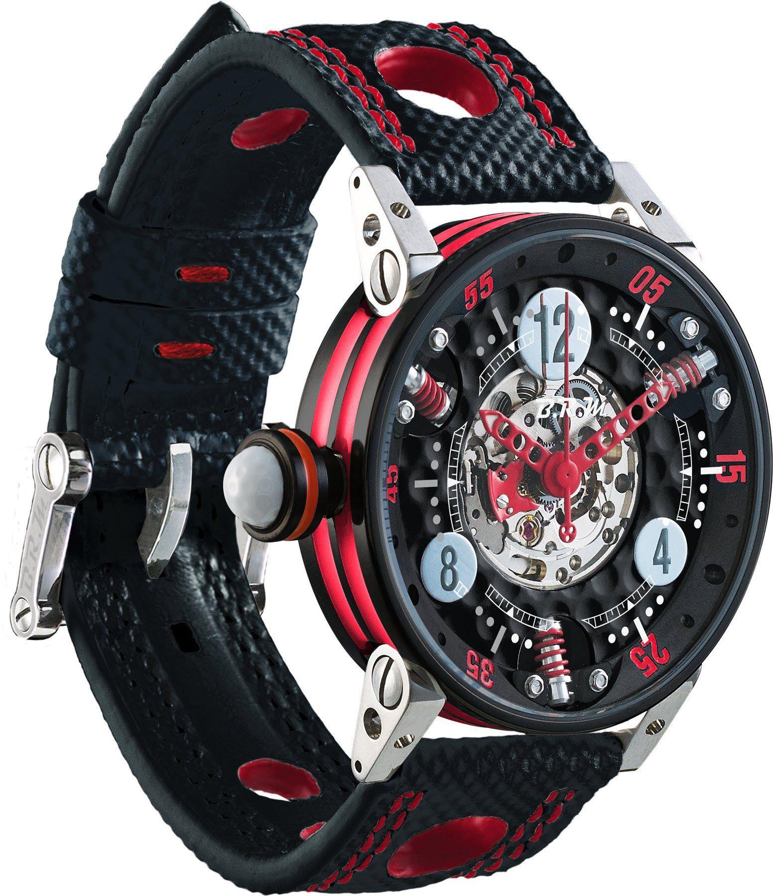 Brm watch golf master ladies red hands stylish watches