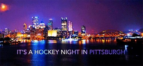 Image result for its a hockey night in pittsburgh
