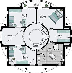 Architektenhaus Hannover - Lichtdurchflutete Villa von STREIF