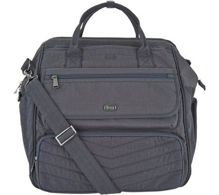 Crinkles Lug Crinkle Nylon 3 In 1 Via Travel Bag
