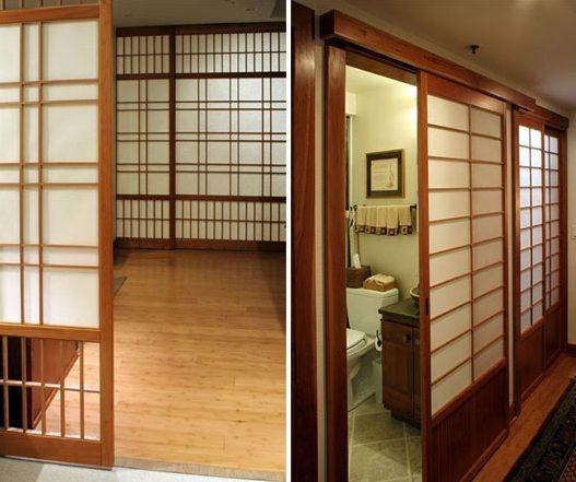 how to make japanese sliding doors japanese art architecture rh pinterest com