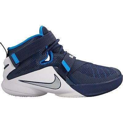 separation shoes efd47 33ed1 ... best price nike lebron soldier 9 ix gs kids 776471 402 navy basketball  shoes youth size
