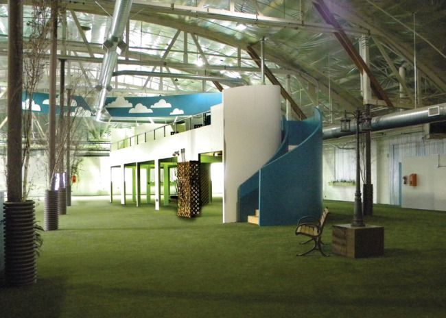 Fido S Indoor Large Dog Park With A Full Service Cafe