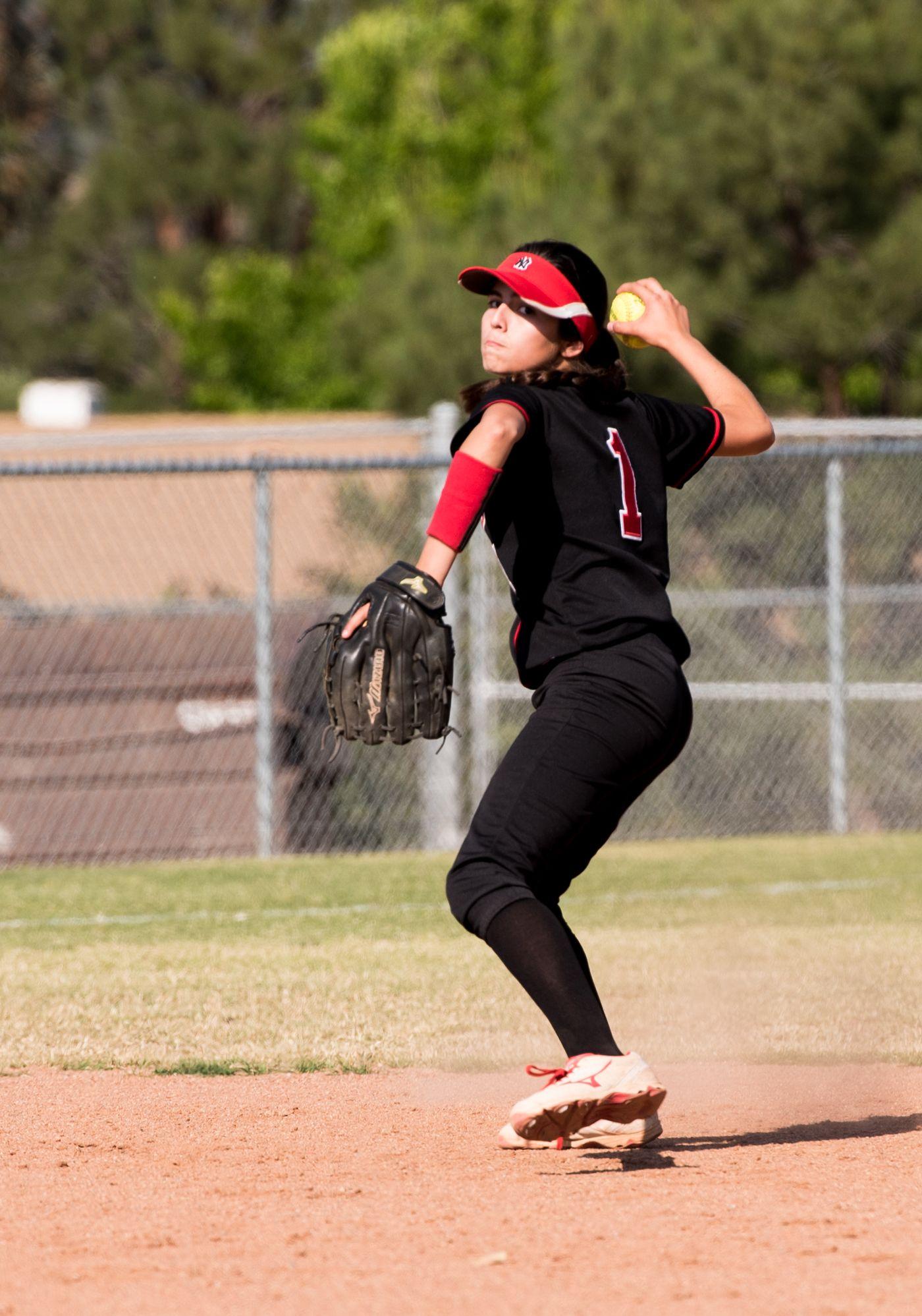 Norte Vista High School Softball School Softball High School Softball Sports Photography