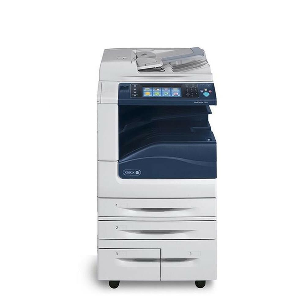 Xerox Workcentre 7845 Color Mfp Printer Copier Scanner Xerox
