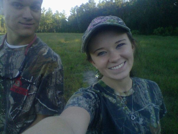 he's my country boy & I'm his country girl