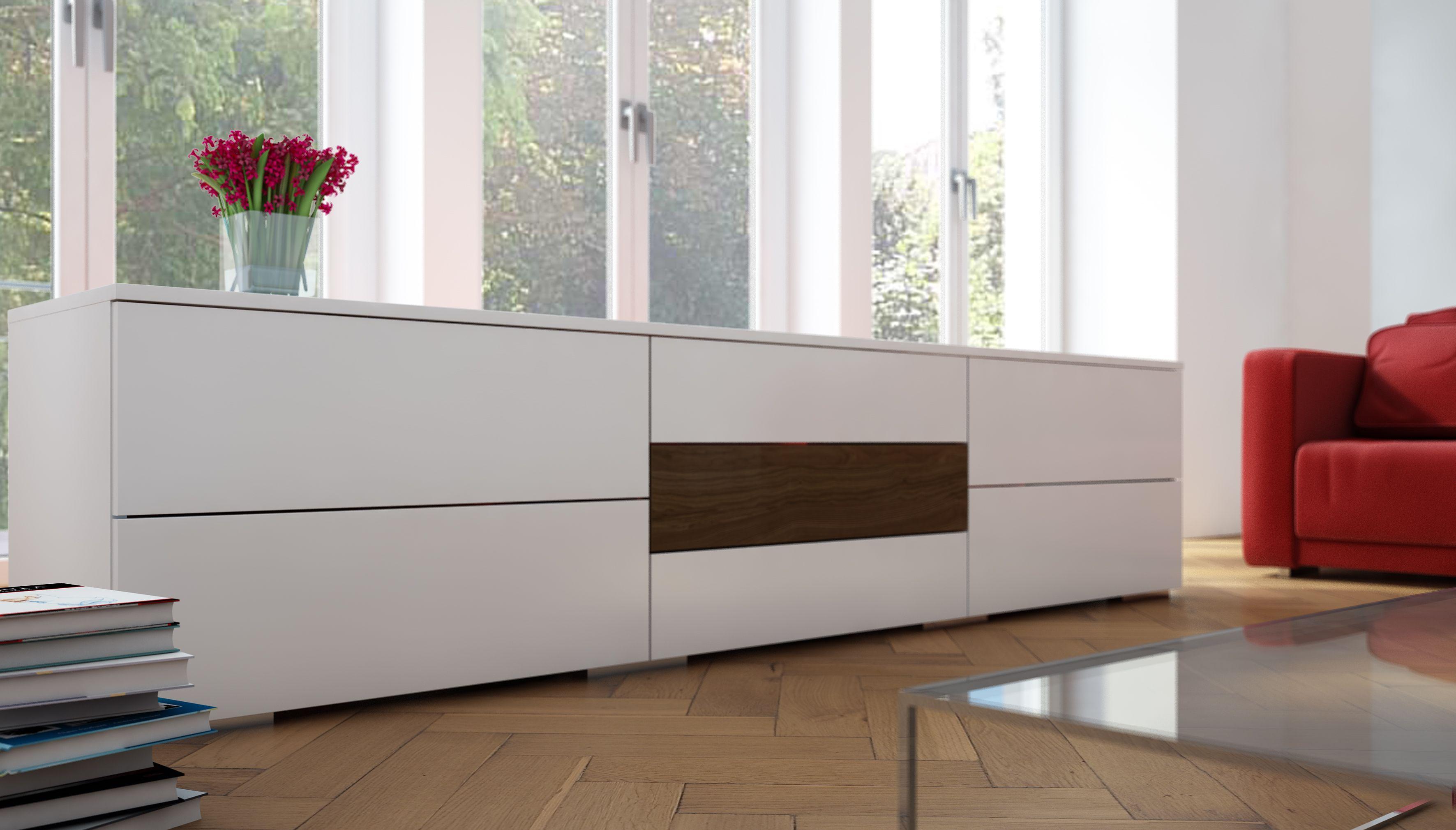 Sideboard im schlichten Design. Geanu nach deinen Maßen