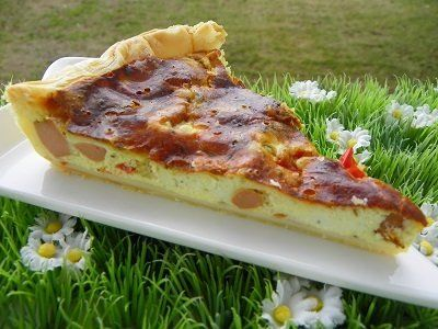 Tarte tomates cerises et knacki thermomix blog cuisine - Cuisiner tous les jours avec thermomix ...