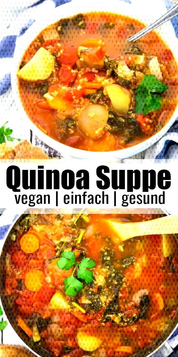 Italienische Quinoa Suppe     Passend zum kühlen Winterwetter habe ich ein richtiges Wohlfühl
