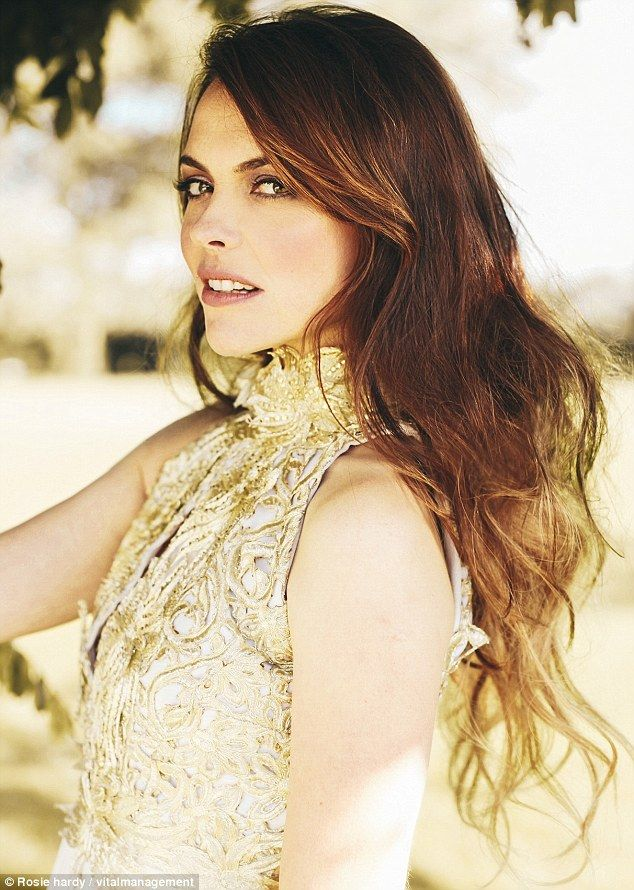 Unrecognisable: Coronation Street's Kate Ford cuts a glamorous figure on high fashion phot...