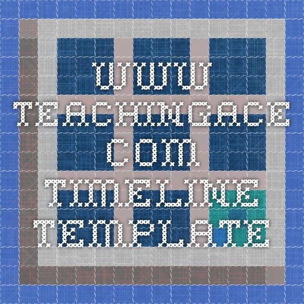 wwwteachingace - timeline template Homeschooling - calendar timeline template