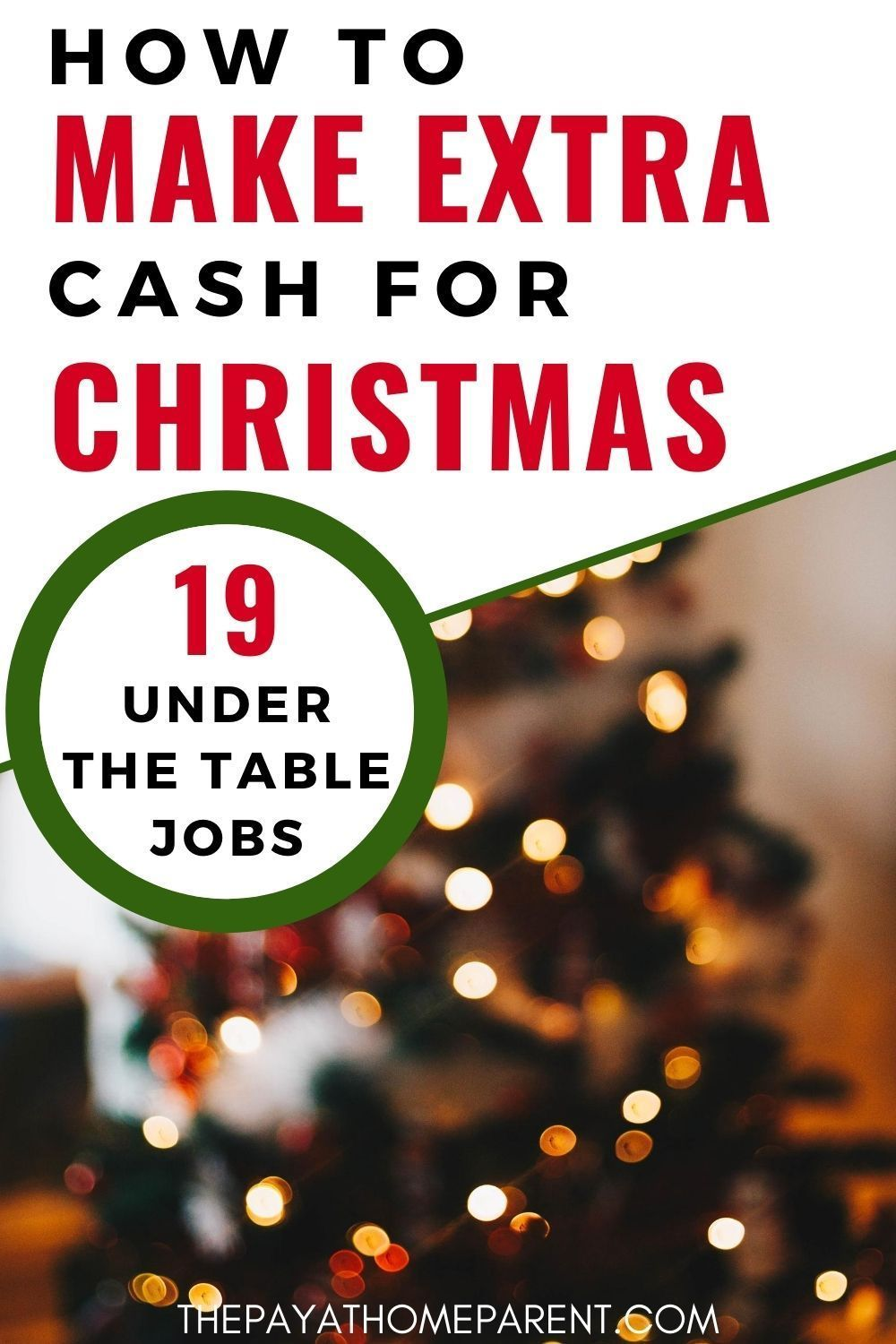 19 Under The Table Jobs That Pay In Cash Only In 2020 Under The Table Jobs Making Extra Cash Extra Money