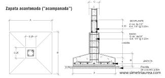 Resultado De Imagen Para Zapatas Aisladas Construccion De Edificios Dibujos De Construccion Cimentacion