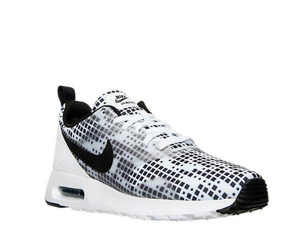 NIKE Men's Nike Air Max Tavas Print Running Shoes 742781 100 NEW