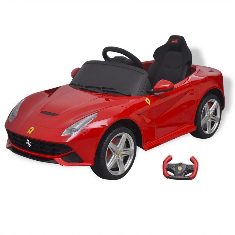 Kids Electric Ride On Car Ferrari F12 W Rc In Red Ferrari F12 Car Ride On Toys