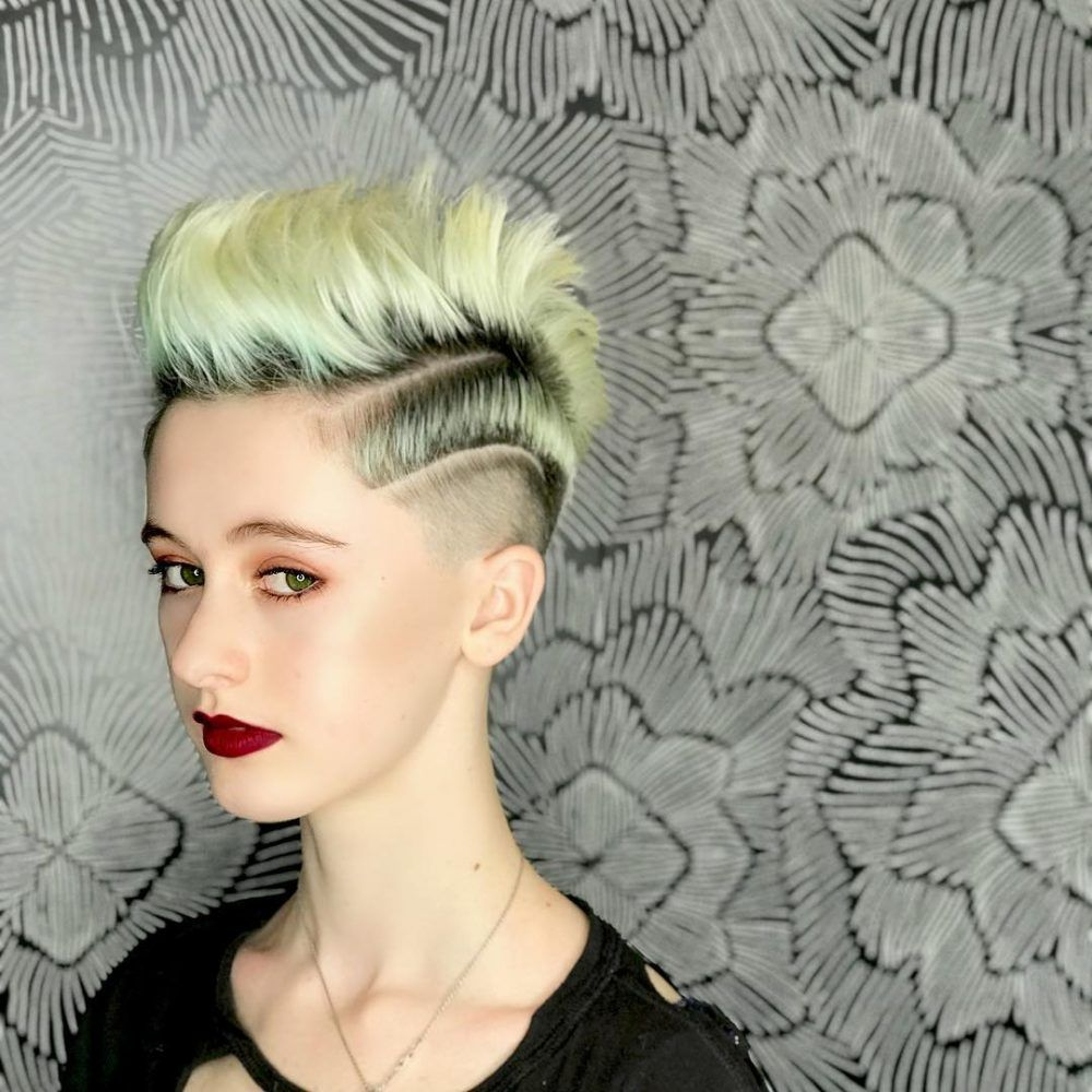 18 Punk Hairstyles For Women Trending In 2020 Hair Styles Punk Hair Punk Rock Girl Hairstyles