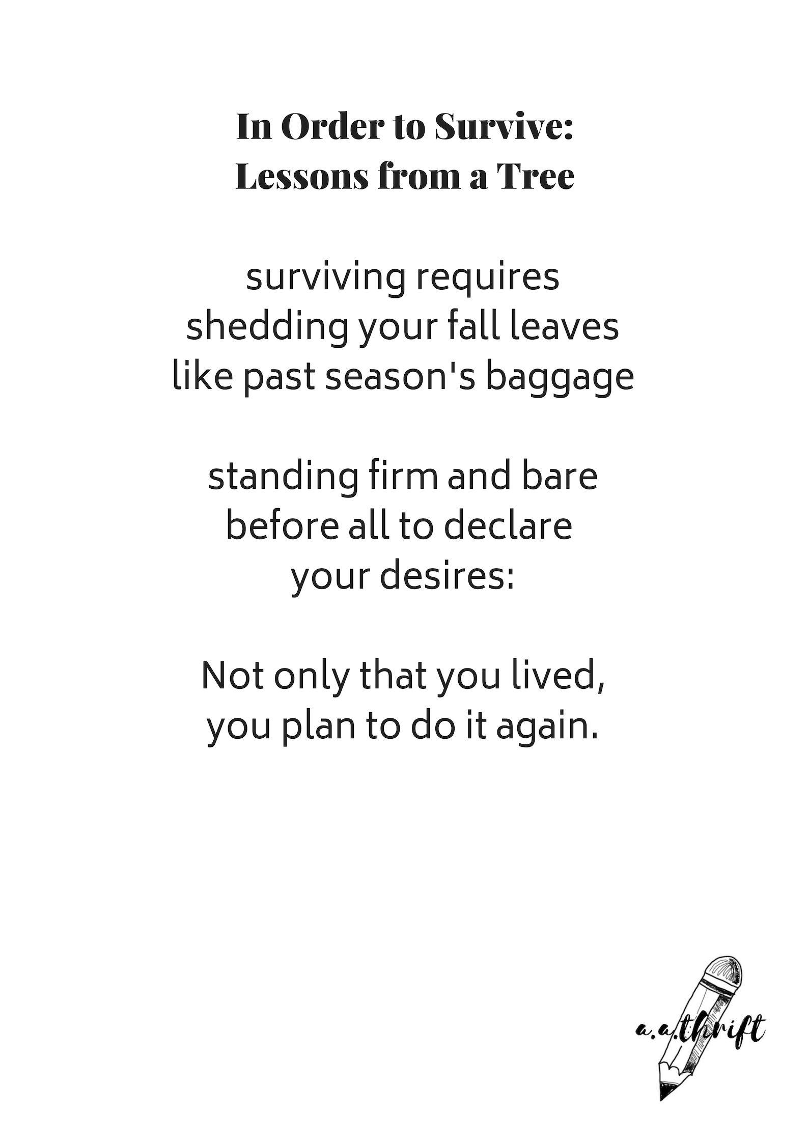 Survive Poems 6