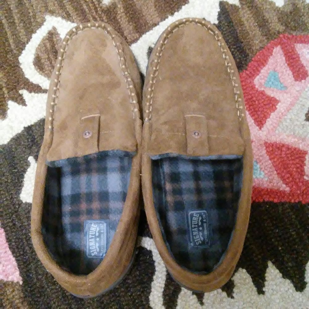 mens levis bedroom slippers fashion clothing shoes