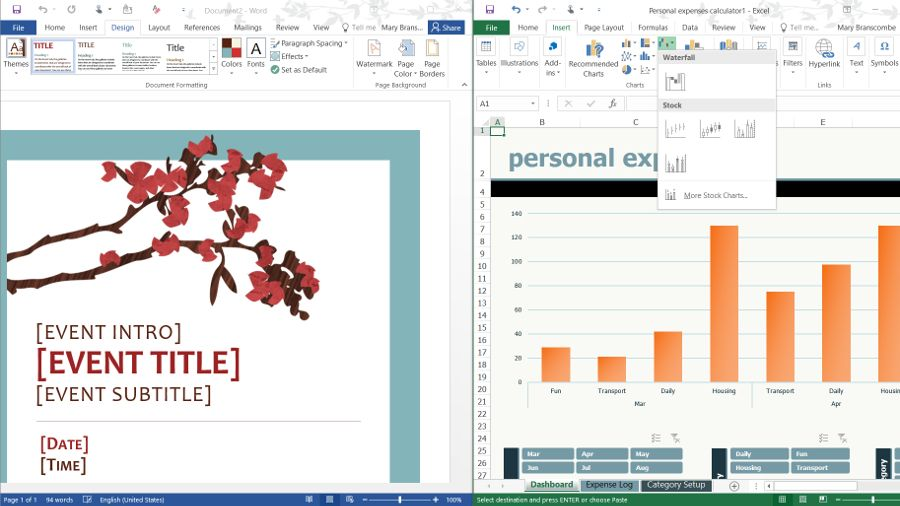 Microsoft Office 2016 vs Office 365 vs Office Online Sharepoint - excel spreadsheet compare office 2016
