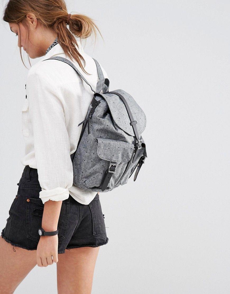 Herschel Supply Co Womens Dawson Scattered Raven Backpack