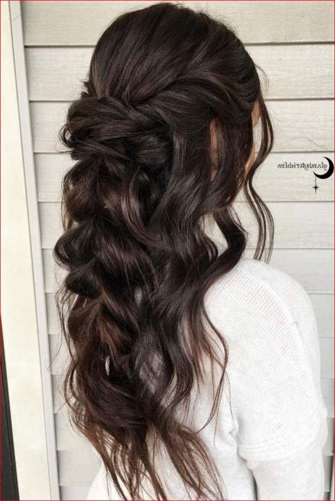 Pin By Wendy Bischof On Hair Beauty That I Love Pinterest Hair Best Wedding Hair Styles Hair Styles Wedding Hair Brunette Long Hair Styles